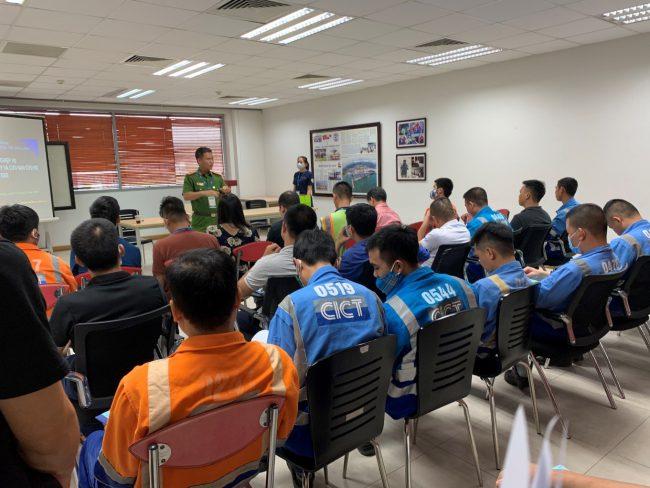 huấn luyện nghiệp vụ pccc